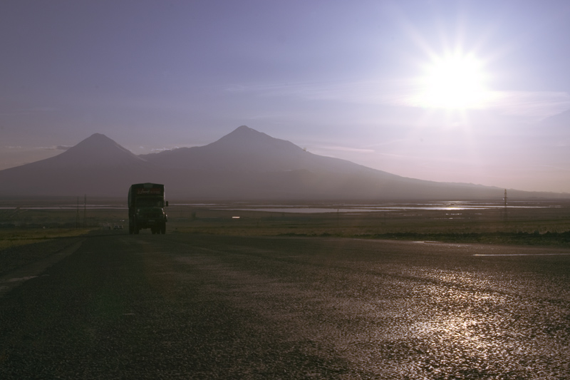 © Hmayak Ghazaryan - Highway towards Ararat