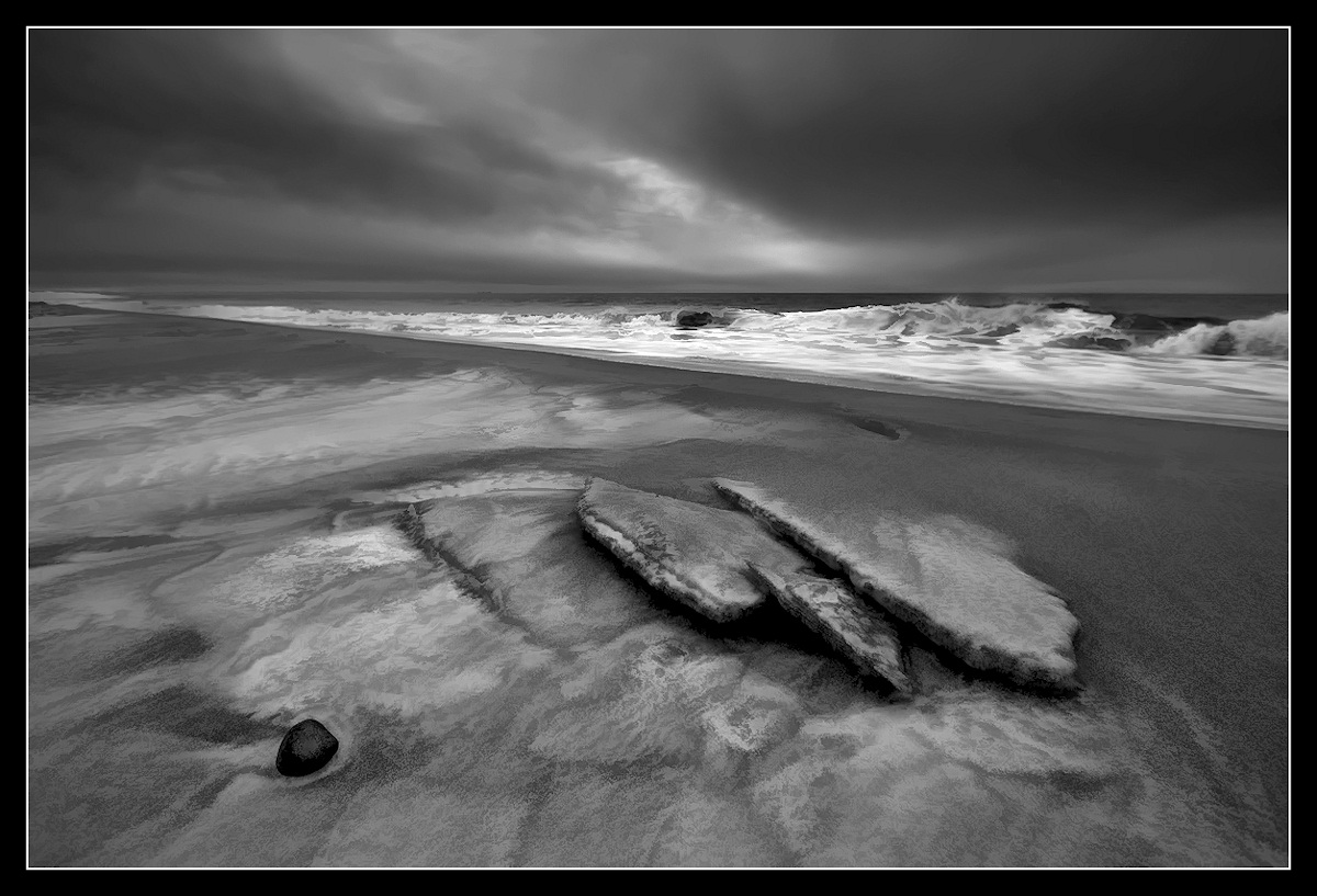 © Gunnar Thorsen jr. - Frozen beach