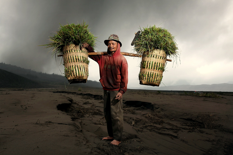 © perak man - Face of Mount Bromo
