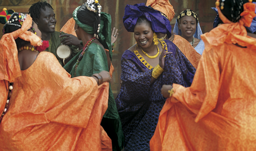 © Fabrice Boutin - Blue Africa - Wedding party in Mali