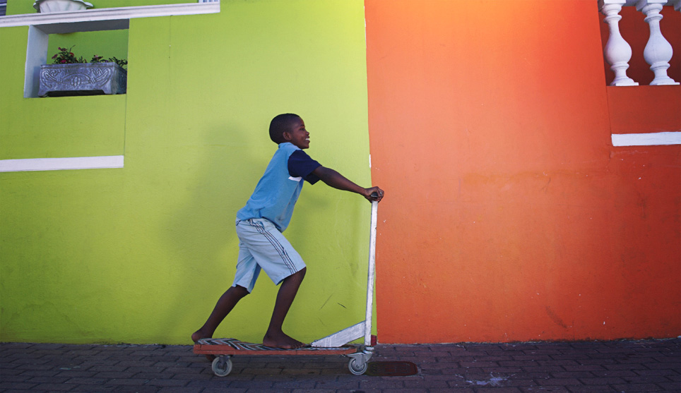 © Fabrice Boutin - Blue Africa - kid ride in Cape Town - South Africa